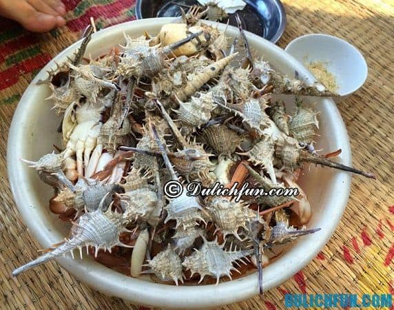 Kinh nghiệm du lịch đảo Cái Chiên - ăn gì, ở đâu? Những món ăn ngon và địa chỉ ăn uống ở đảo Cái Chiên