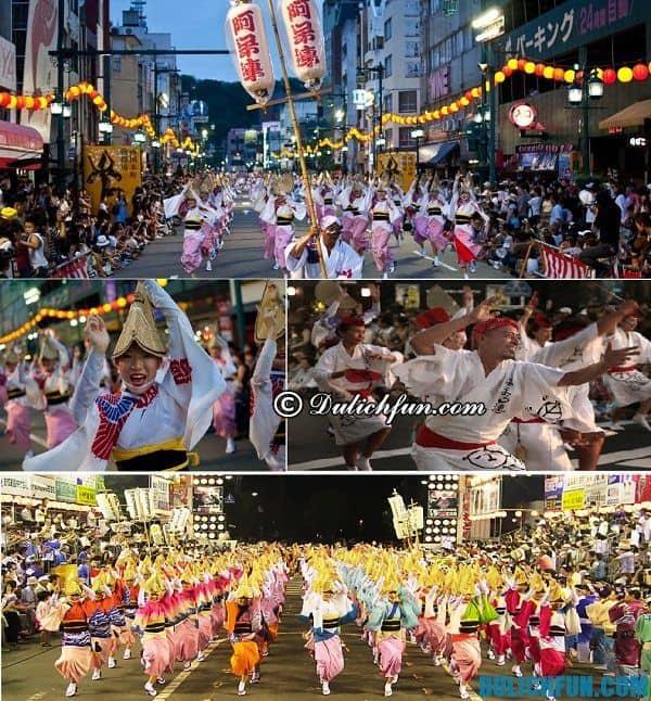 Lễ hội truyền thống lớn nhất ở Nhật Bản tổ chức ở đâu, khi nào? Mùa lễ hội ở Nhật Bản nổi tiếng, đặc sắc