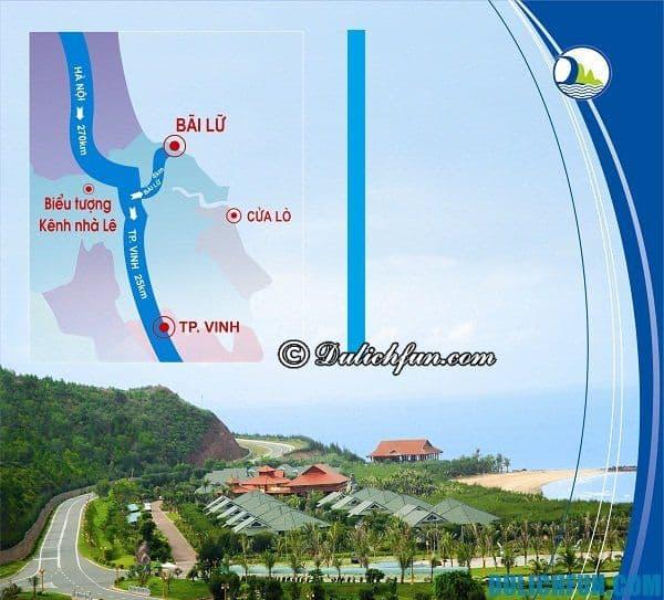 Cách tới Bãi Lữ? Phương tiện di chuyển, hướng dẫn đường đi tới Bãi Lữ. Kinh nghiệm du lịch Bãi Lữ