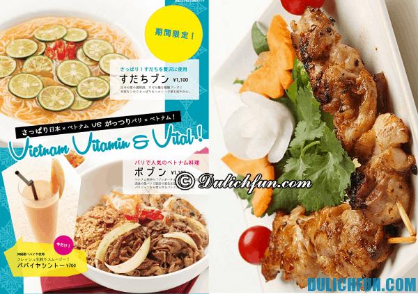 Những nhà hàng, quán ăn Việt Nam ở Tokyo ngon, chuẩn vị