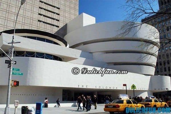 Bảo tàng nghệ thuật hiện đại ở New York, địa điểm du lịch miễn phí ở New York hấp dẫn du khách ghé thăm. Bảo tàng miễn phí tại New York
