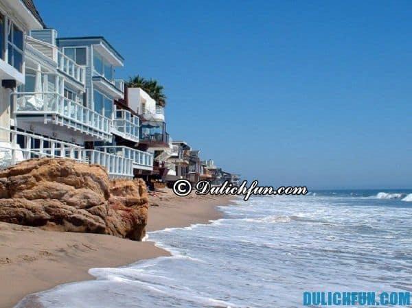 Biển Malibu ở Los Angeles, khám phá địa điểm du lịch ở Los Angeles đẹp, hấp dẫn. Du lịch Los Angeles nên đi đâu chơi?