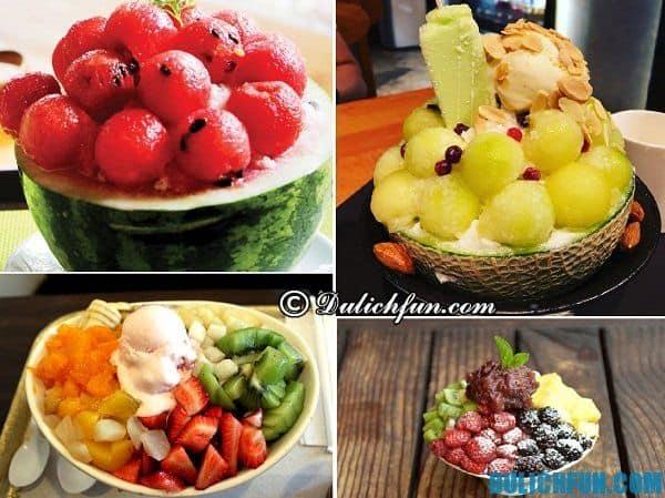Ăn Bingsu ở đâu Hàn Quốc? Địa chỉ ăn Bingsu trái cây tươi ngon ở Hàn Quốc