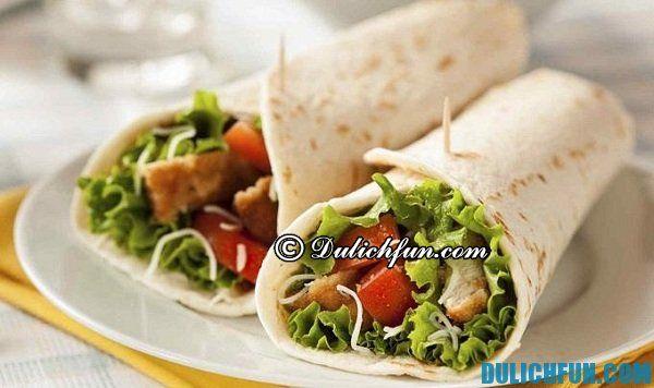 Burritos khám phá ẩm thực San Francisco, điểm danh những món ăn ngon, nổi tiếng ở San Francisco, đặc sản San Francisco