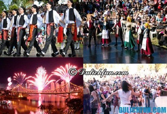 Hướng dẫn du lịch Brisbane: Du lịch Brisbane có gì thú vị? Các lễ hội nổi tiếng ở Brisbane