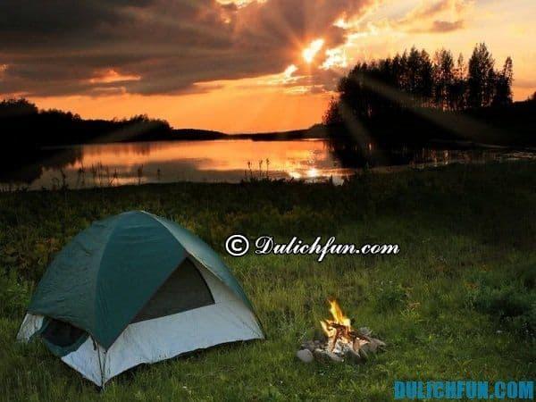Nơi nghỉ ngơi khi du lịch Nam Cát Tiên. Hướng dẫn và tư vấn du lịch Nam Cát Tiên
