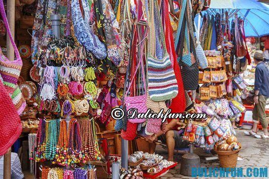 Mua gì, ở đâu khi du lịch Bali? Chợ nghệ thuật Ubud, địa điểm mua sắm nổi tiếng ở Bali