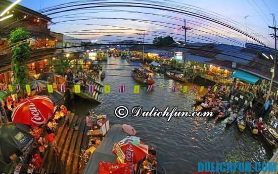 Du lịch Hua Hin, Thái Lan đi mua sắm ở đâu rẻ, nổi tiếng: Chợ nổi Amphawa, địa điểm mua sắm thú vị ở Hua Hin