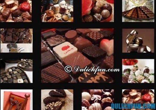 Nên mua gì làm quà khi du lịch Thụy Sĩ? Chocolate, món quà nên mua khi đi Thụy Sĩ