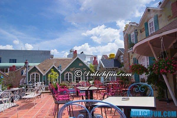City House cà phê, địa điểm quán cafe hấp dẫn, nổi tiếng ở Sài Gòn