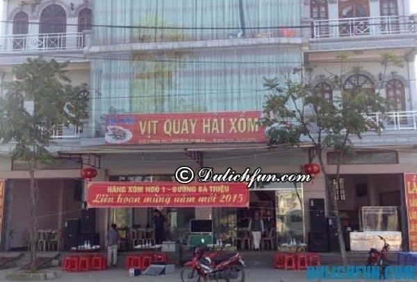Địa chỉ ăn uống nổi tiếng ở Lạng Sơn. Đặc sản Lạng Sơn