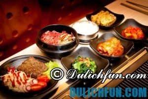 Địa chỉ ăn uống ngon nổi tiếng ở Seoul