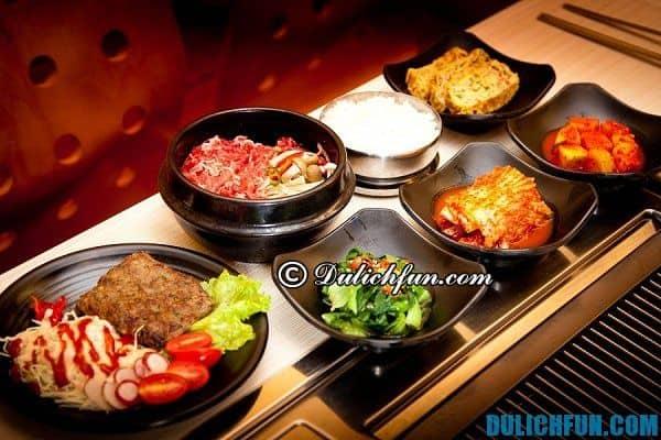 Địa chỉ ăn uống ngon nổi tiếng ở Seoul: Nhà hàng, quán ăn ngon giá rẻ ở Seoul
