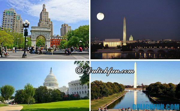 Kinh nghiệm du lịch Washington từ A-Z, những địa điểm du lịch nổi tiếng ở Washington