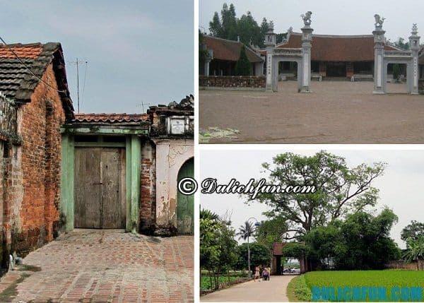Hướng dẫn du lịch Đường Lâm chi tiết: Du lịch làng cổ Đường Lâm đi chơi ở đâu?