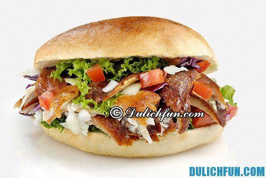 Ăn gì khi du lịch Thổ Nhĩ Kỳ? Doner Kebap, món ăn ngon, hấp dẫn ở Thổ Nhĩ Kỳ - Kinh nghiệm du lịch Thổ Nhỹ Kỳ