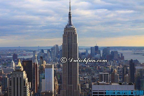 Du lịch New York, khám phá những địa điểm du lịch đẹp miễn phí ở New York. New York có địa điểm du lịch nào đẹp, miễn phí
