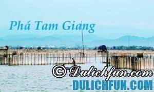 Chia sẻ kinh nghiệm du lịch Phá Tam Giang vui vẻ, thú vị