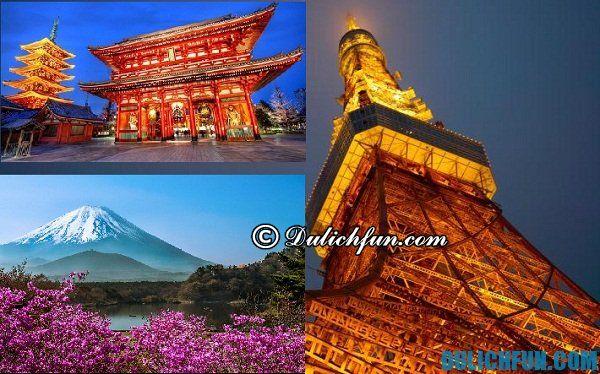 Lịch trình du lịch Nhật Bản 6 ngày 5 đêm. Du lịch Nhật Bản 6 ngày 5 đêm nên đi đâu?
