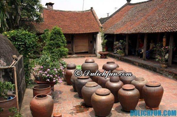 Hướng dẫn du lịch Đường Lâm: Địa điểm du lịch thú vị ở làng cổ Đường Lâm
