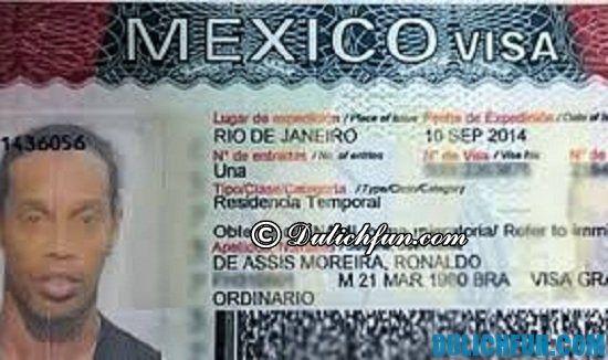 Hướng dẫn xin visa đi du lịch Mexico nhanh chóng, thuận lợi: Du lịch Mexico cần những gì?