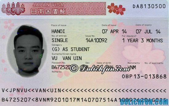 Thủ tục xin Visa Nhật Bản như thế nào? Hướng dẫn cách làm Visa Nhật Bản trước khi đi du lịch Okinawa
