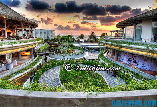 Khu Kuta Beachwalk, địa điểm mua sắm giá rẻ, chất lượng ở Bali bạn không nên bỏ lỡ