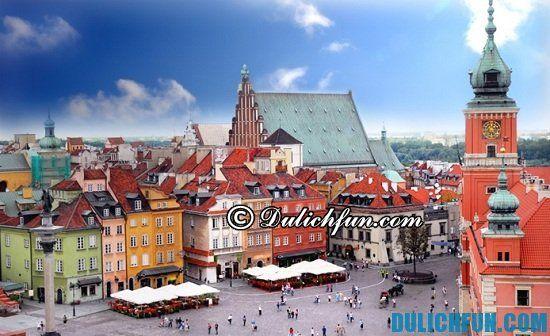 Hướng dẫn cách đi du lịch Ba Lan. Cẩm nang du lịch Ba Lan đầy đủ, chi tiết nhất