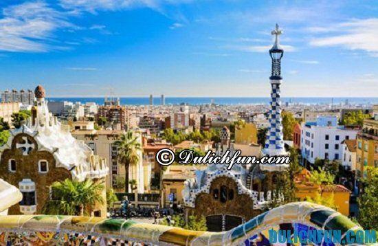 Hướng dẫn kinh nghiệm du lịch Barcelona siêu đầy đủ, chi tiết nhất: Tư vấn lịch trình vui chơi, ăn uống, tham quan du lịch Barcelona giá rẻ