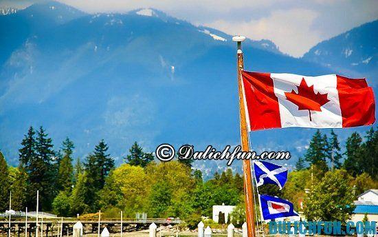 Hướng dẫn, kinh nghiệm du lịch Canada siêu đầy đủ, chi tiết: Làm sao để đi du lịch Canada thuận lợi