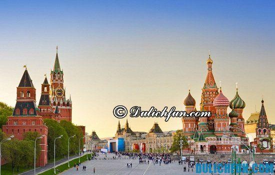 Tổng hợp những kinh nghiệm du lịch Nga toàn tập, đầy đủ và chi tiết nhất