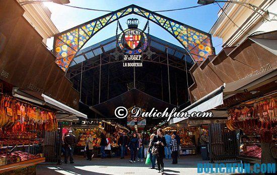 Hướng dẫn du lịch Barcelona: Mua gì, ở đâu khi du lịch Barcelona? Địa điểm mua sắm và kinh nghiệm mua sắm ở Barcelona