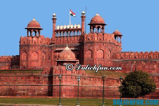 Lịch trình tham quan du lịch New Delhi: Đi đâu khi du lịch New Delhi? Lal Qila (Pháo đài Đỏ), địa điểm tham quan du lịch nổi tiếng ở New Delhi