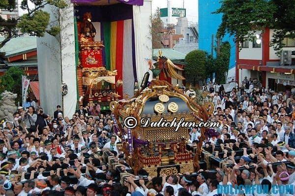 Lễ hội văn hóa truyền thống lớn bậc nhất ở Nhật Bản: Nhật Bản có những lễ hội nổi tiếng nào và tổ chức ở đâu?