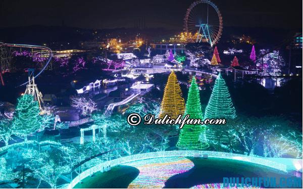 Những lễ hội ánh sáng nổi tiếng ở Nhật Bản. Du lịch Nhật Bản mùa lễ hội ánh sáng
