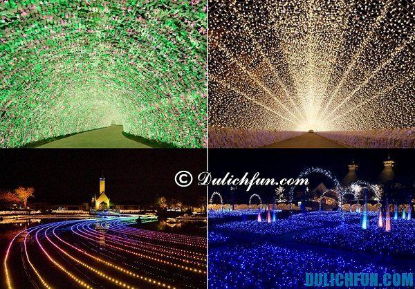 Các lễ hội ánh sáng ở Nhật Bản: Thời gian, địa điểm, giá vé. Du lịch Nhật Bản mùa lễ hội ánh sáng. Lễ hội ánh sáng đẹp ở Nhật Bản.