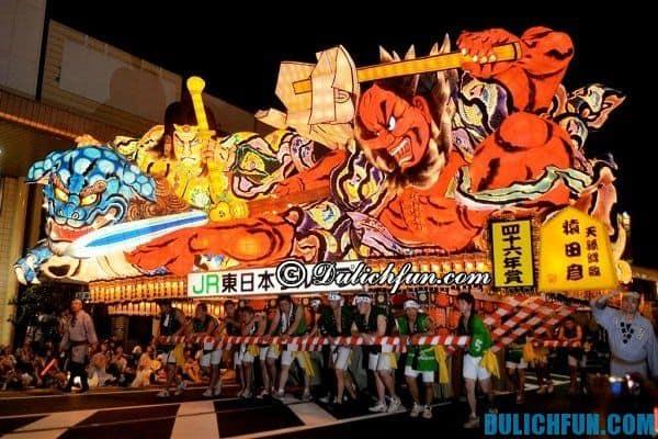 Lễ hội truyền thống lớn bậc nhất ở Nhật Bản. Nhật Bản có lễ hội nào đặc sắc, tổ chức ở đâu, khi nào?