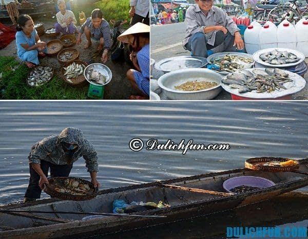 Ăn uống ở Phá Tam Giang. Kinh nghiệm du lịch Phá Tam Giang