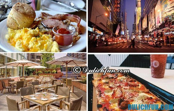 Món ngon, địa điểm ăn uống mua sắm tại Washington, kinh nghiệm du lịch Washington thú vị, vui vẻ