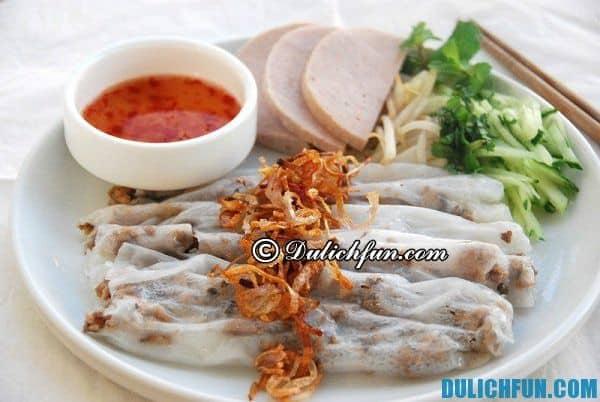 Tới Quảng Ngãi nên ăn ở đâu? những địa điểm ăn uống được yêu thích ở Quảng Ngãi
