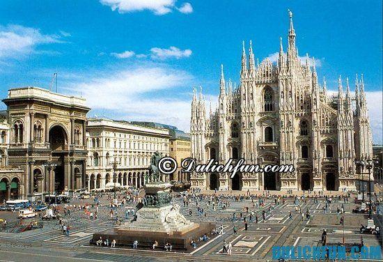 Hướng dẫn du lịch Milan giá rẻ: Đi đâu khi du lịch Milan? Nhà thờ chính tòa Milan, địa điểm tham quan, du lịch ở Milan