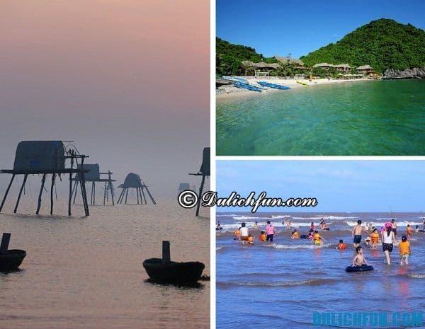 Địa điểm du lịch biển gần Hà Nội thích nhất: Những bãi biển đẹp, nổi tiếng gần Hà Nội