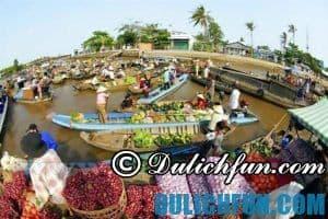 Những địa điểm du lịch nổi tiếng, hấp dẫn ở Tiền Giang. Du lịch khám phá Tiền Giang, địa danh du lịch hấp dẫn