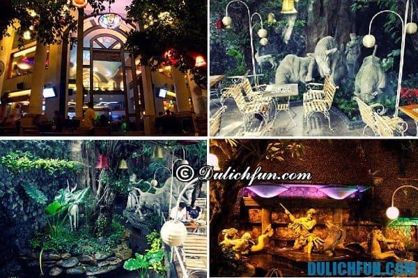 Địa điểm quán cà phê độc đáo, hấp dẫn ở Sài Gòn. Quán cà phê Myth- thiên đường cà phê