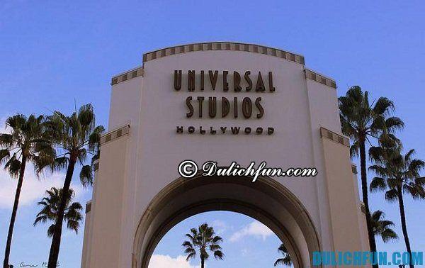 Địa điểm du lịch nổi tiếng ở Los Angeles: Nơi chụp ảnh, ngắm cảnh đẹp ở Los Angeles