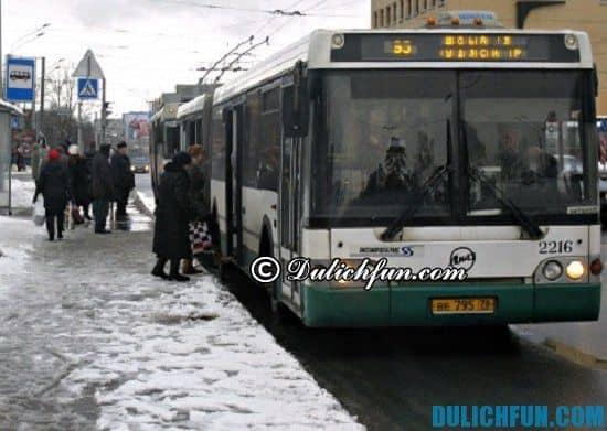 Tư vấn lịch trình du lịch Nga: Đi lại bằng gì khi du lịch Nga? Phương tiện di chuyển chủ yếu ở Nga