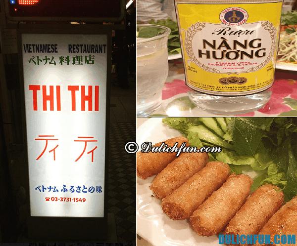 Nhà hàng Việt Nam nổi tiếng ở Tokyo: Địa chỉ ăn món Việt Nam tại Tokyo