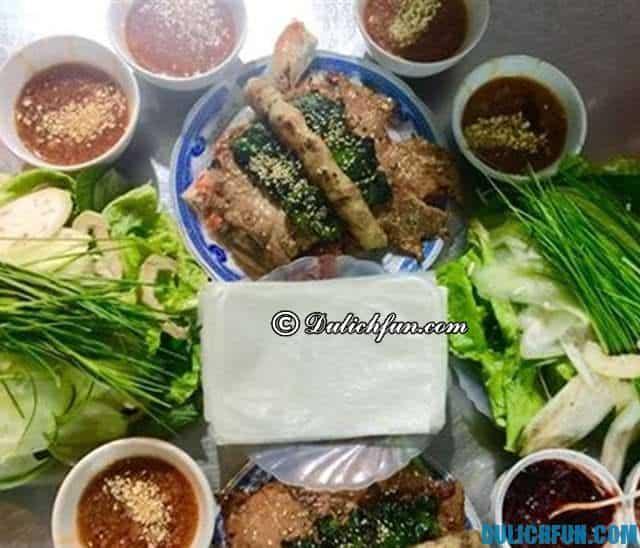 Quán ăn ngon nức tiếng ở Quảng Ngãi: Địa chỉ ăn uống ngon bổ rẻ tại Quảng Ngãi
