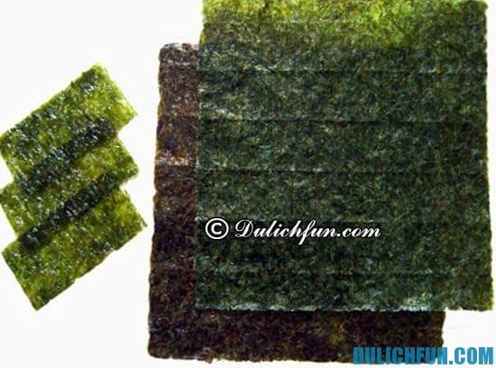 Đặc sản ở Đà Nẵng nên mua về làm quà. Rong biển Mỹ Khê, đặc sản Đà Nẵng nên mùa về làm quà khi du lịch Đà Nẵng