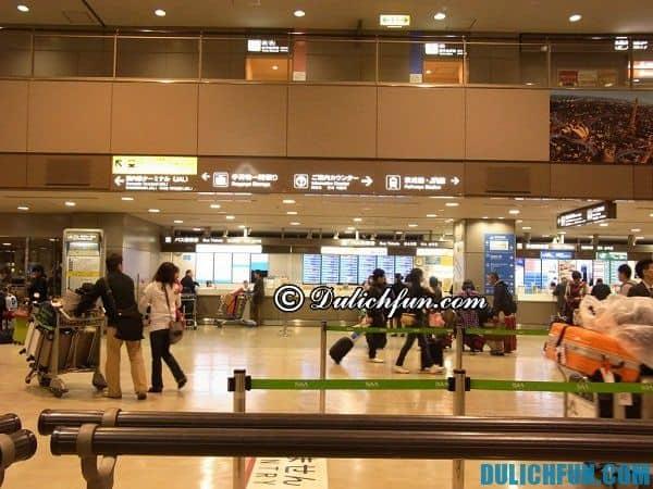 Hướng dẫn di chuyển từ sân bay Narita về Tokyo: Đi từ sân bay Narita về Tokyo như thế nào nhanh và tiết kiệm nhất